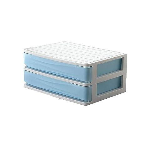 LYX1,Organizador de Escritorio 2-Capas Cajón Durable Plástico Mesa ...