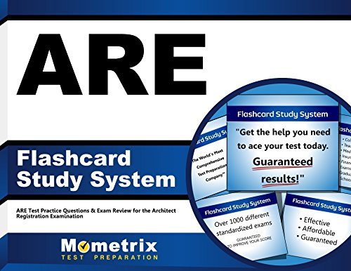 ARE Flashcard Study System: ARE Test Practice Questions & Exam Review for the Architect Registration Examination (Cards)