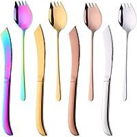 Do Buy Bistec Vajilla,8 Piezas,4 Cuchillo 4 Tenedor