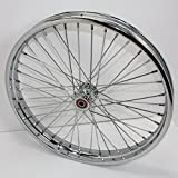 V-Twin Manufacturing Chopper-Style Spool Front Wheel, 21'' 52-0173