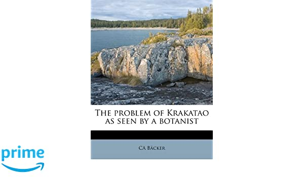 The Problem of Krakatao as Seen by a Botanist