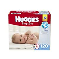 Huggies\x20Snug\x20and\x20Dry\x20Diapers,\x20Size\x201,\x20120\x20Count