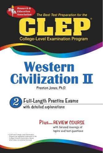 CLEP Western Civilization II: Test Preparation (Clep Western)