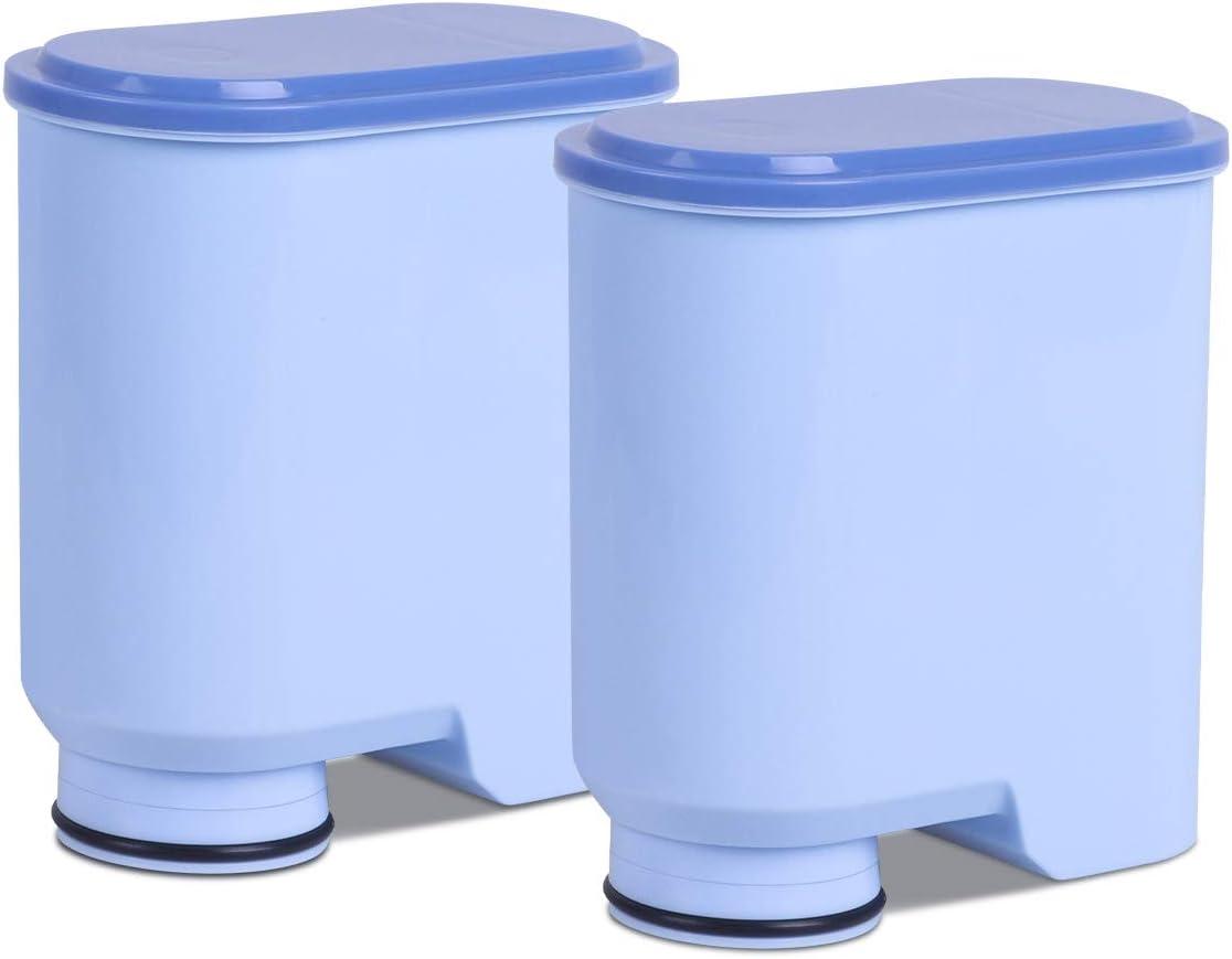 Heimuni - 2 filtros de agua para cafetera Saeco y Philips, filtro ...