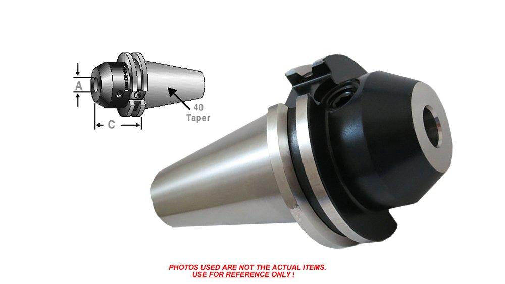 CAT-40 1 ENDMILL Holder Balanced 2.00 PROJ. C40-10EM200-K