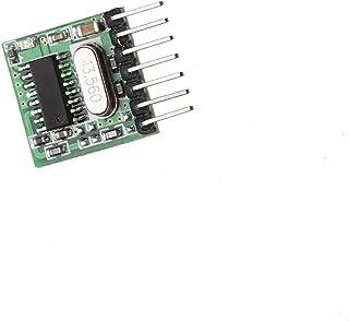 Mini modulo trasmettitore wireless 433MHz RF Remote Control Learning code 1527