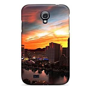 Durable Protector Case Cover With Tokyo City At Twilight Hot Design For Galaxy S4