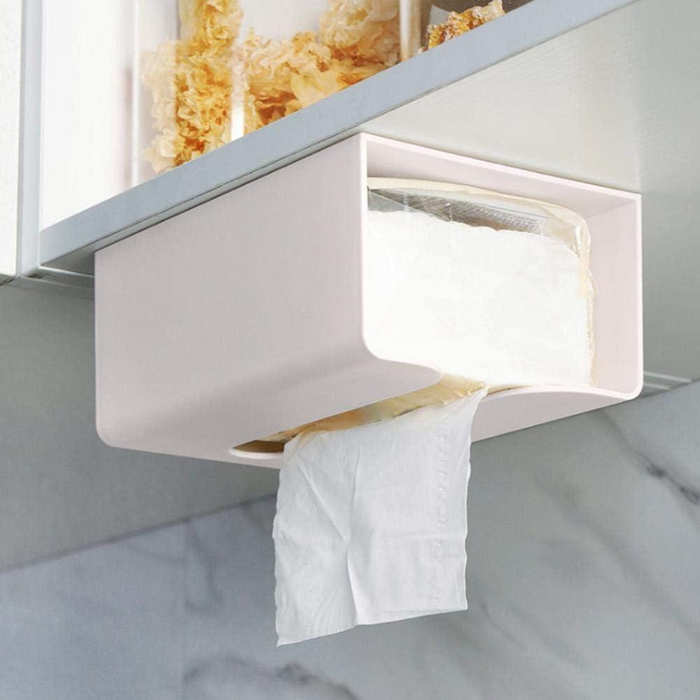 belukies Bo/îte /à mouchoirs Multi-Fonctions Bo/îte /à mouchoirs imperm/éable Porte-Serviettes en Papier Toilette de Salle de Bains Toilette sans Support pour bo/îtes de mouchoirs Plateau