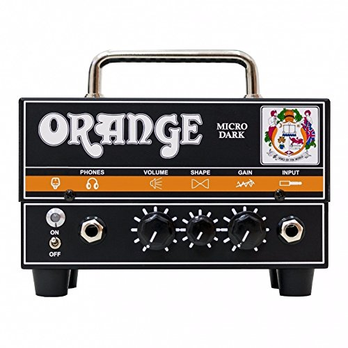 Orange Micro Dark Mini Valve Hybrid 20 Watt Guitar Amp Head w/Effin Tweed Cable by Orange