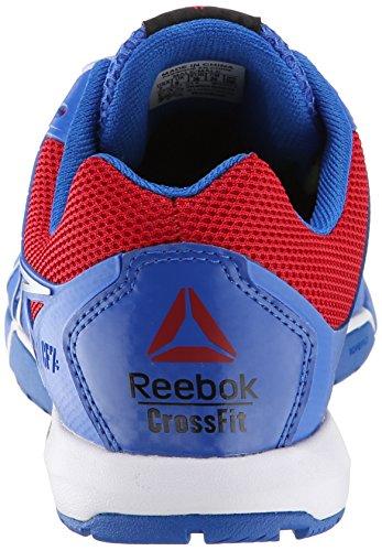 Reebok Heren Crossfit Nano 3.0 Trainingsschoen Vital Blue / Stadion Rood / Wit