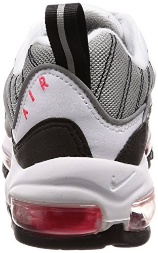 White Reflect Femme W Chaussures de Dust 104 Max Solar Gymnastique Red NIKE Silver Blanc Air 98 T1nzR