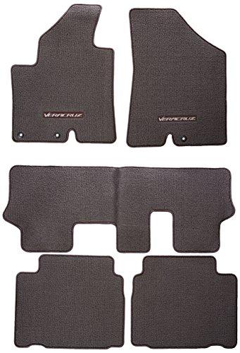 Genuine Hyundai Accessories 3J014-ADU007Q Beige Carpeted Floor Mat for Hyundai Veracruz