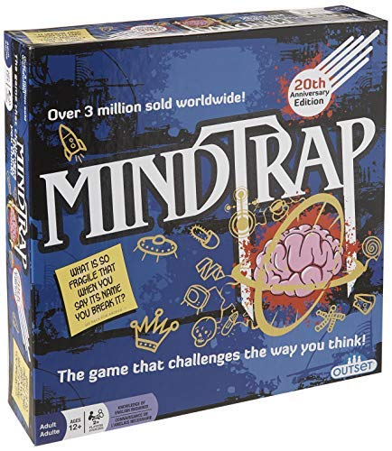 Mind Trap Brain Teaser Board Game - MindTrap 20th Anniversary Edition: The Game That Challenges the Way You Think (Over 3 Million Copies Sold) [並行輸入品] B07SC6F89L