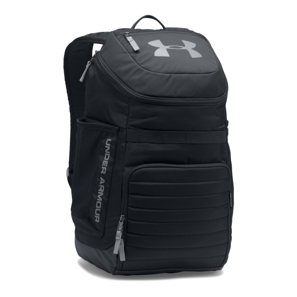 Under Armour Undeniable 3.0 Backpack,Black (001)/Steel, One Size Fits All by Under Armour