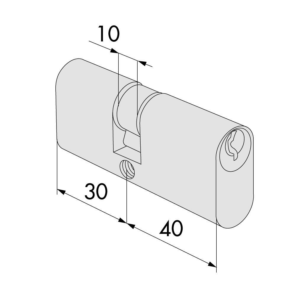 /Cylindre 08210/ /28/ type 8300 Cisa/ /02/OV.28/