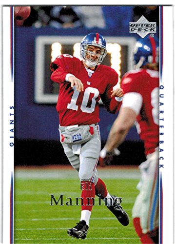 2007 Upper Deck New York Giants Team Set with Manning & Strahan SB Champs