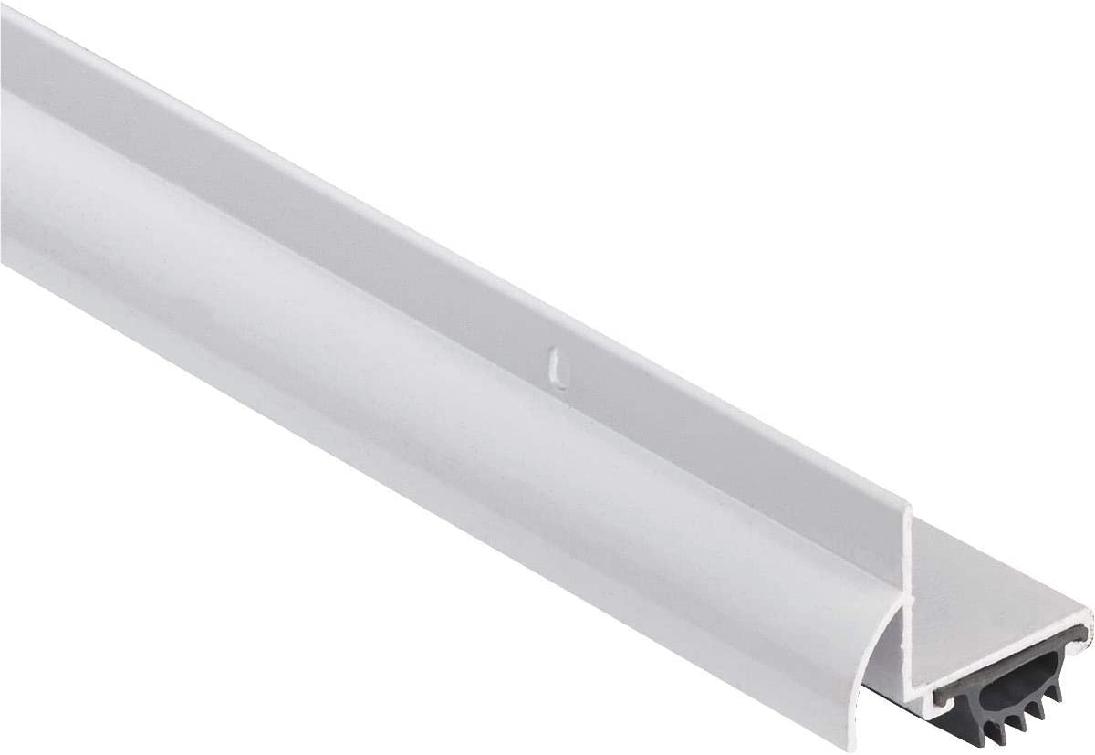 White M-D Building Products 69514 48-Inch DB001 L-Shaped Door Bottom with Drip Cap