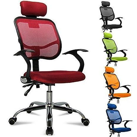 FEMOR Schreibtischstuhl Drehstuhl Bürostuhl Chefsessel sitzkomfort Bürodrehstuhl Binklusive Armlehnen Bandscheiben ergonomisc
