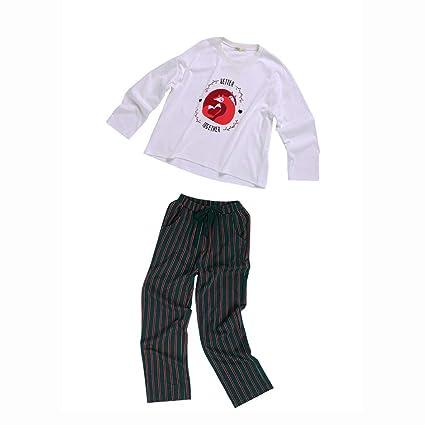 Xing Hua home Los Pijamas caseros de Las señoras del algodón del otoño Ropa casera Floja
