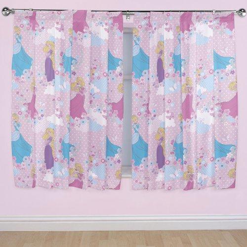 Disney 54-inch Princess Dreams Curtains, Multi-Colour