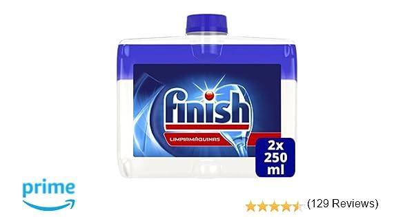 Finish Limpiamáquinas Líquido para Lavavajillas Regular Duplo - 2 x 250 ml
