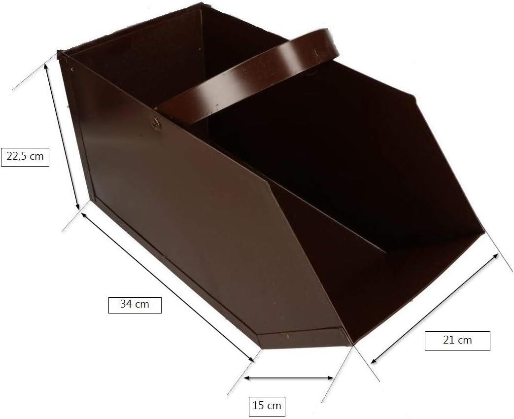 Kohlenkasten Kohlenschütte Kohle Koks Aschekasten Ofen Aschebehälter 2 Größen