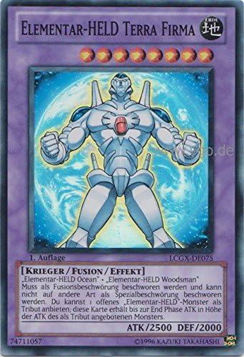 LCGX-DE075 Héroe Elemental Terra Compañía en el Set con original Cubierta De La Tarjeta De Gwindi: Amazon.es: Juguetes y juegos