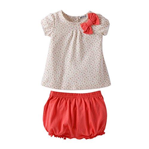 PanDaDa T shirt Shorts Bowknot Outfits