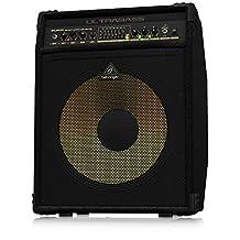 "300-Watt 2-Channel Bass Amplifier with Original BUGERA 15"" Aluminum-Cone Speaker, FBQ Spectrum Analyzer, Compressor and Ultrabass Processor"