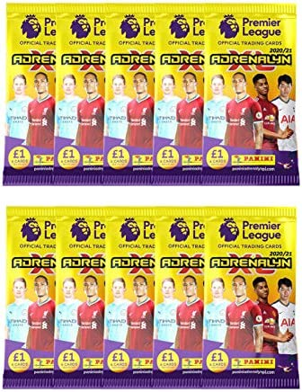 Starter Pack 1 Bonus Pack 4 Packs + 2 LE Cards Fernandes /& Salah Panini Adrenalyn 2020-21 Premier League Cards