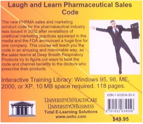 Laugh and Learn Pharmaceutical Sales Code by UniversityOfHealthCare