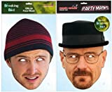 TWIN PACK Breaking Bad – 2 x Officially Licensed Breaking Bad Masks