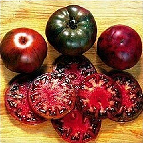100pcs Black Krim Tomato Seeds Russian Heirloom Vegetable Fruit Bonsai Plants Black Krim Tomato Plants