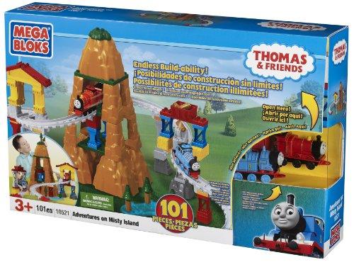 Mega Bloks Thomas Adventure on Misty Island (Mega Bloks Thomas & Friends Mountain Adventure)
