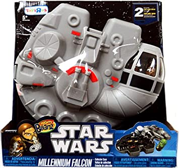Mighty Beanz Carry Case   Star Wars Millenium Falcon