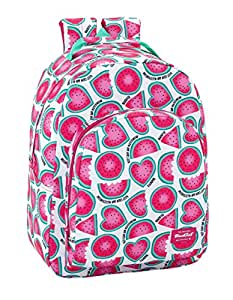 "Safta Mochila Blackfit8 ""Watermelon"" Oficial Mochila Escolar 320x150x420mm"