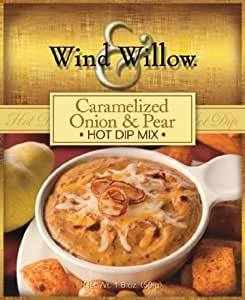 Wind & Willow Caramelized Onion & Pear Hot Dip Mix, Pack of 3