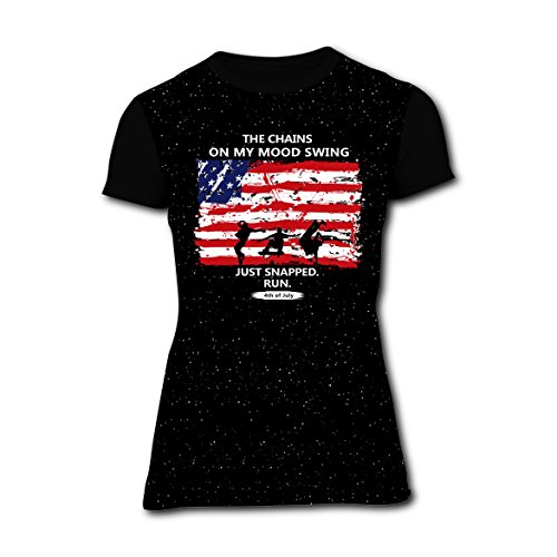 American 4th Of July Customized 3D Printing Women's Short-Sleeve T-Shirt - Shirt Of Fourth Diy July
