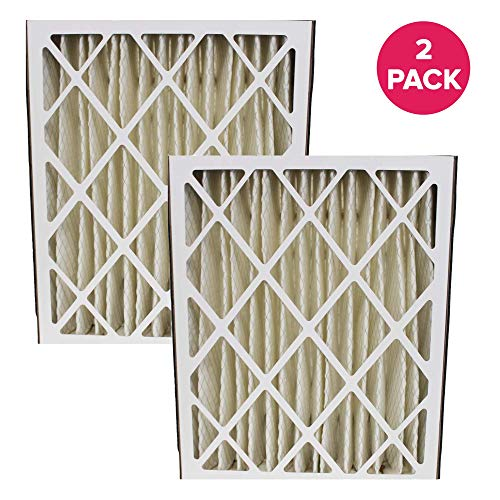 Think Crucial Replacement Air Filter ? Compatible with Ultravation Part # 91-006 Furnace Air Filter ? Fits Most Ultravation, MERV Sized 20x25x5 - Bulk (2 Pack)