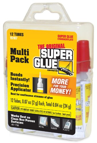 Super Glue 15187 Super Glue, 12-Pack