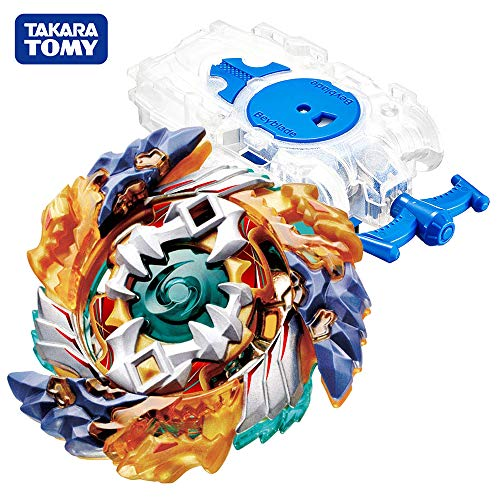 Beyblade Burst Chouzetsu Starter B-122 Starter Geist Fafnir. 8 '.Ab Beyblades Stater Set with B-99 Bey String Launcher L Clear White High Performance Battling Top from TheJD
