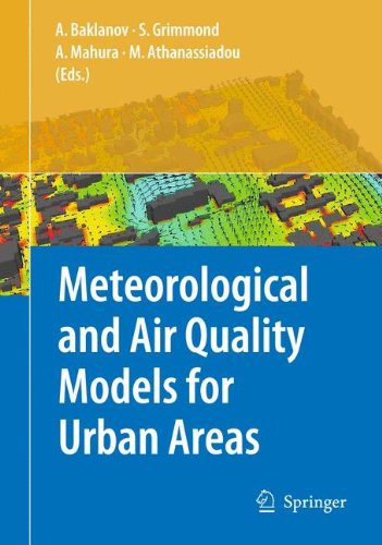 Meteorological and Air Quality Models for Urban Areas pdf