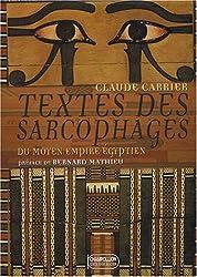 Textes des sarcophages du Moyen Empire égyptien Coffret 3 volumes