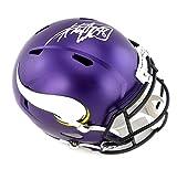 Adrian Peterson Autographed/Signed Minnesota Vikings Riddell Speed Full Size NFL Helmet