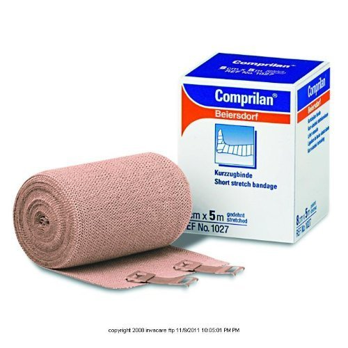 Comprilan Short Stretch Compression Bandage, Comprilan 4.7in X 5.5Yds, (1 EACH, 1 EACH) by BSN MEDICAL