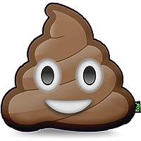 Almofada Emoticon - Emoji Cocozinho Poop, Yaay, Multicor, 40 x 40 cm