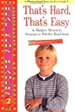 img - for That'S Hard, That'S Easy (Real Kid Readers: Level 2) book / textbook / text book