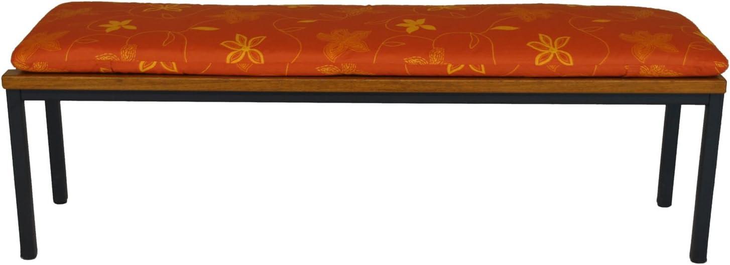150cm x 50cm Enjoygoeu Cuscino per Panca da Giardino Esterno Soffice e Comodo,per Panchine da Giardino e Dondoli,Cuscino panche 150x50 cm e 100x50 cm-Grigio