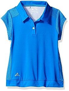 adidas Golf Girls Micro Dot Polo Shirt