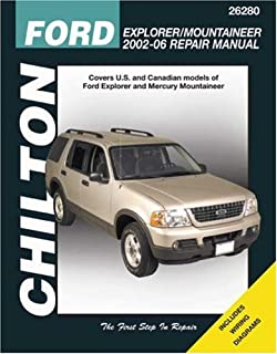 Ford explorer mercury mountaineer 2002 2010 chiltons total car ford explorer mountaineer 2002 2006 chiltons total car care repair manual fandeluxe Image collections